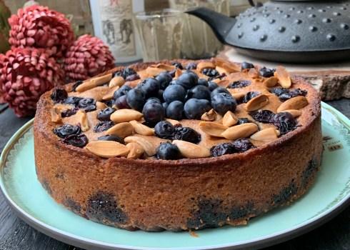 gâteau myrtilles citron amandes de Yotan Ottolonghi