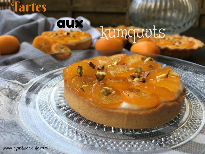 tartes aux kumquats