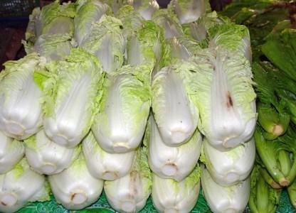 Les légumes asiatiques : légumes feuilles 1