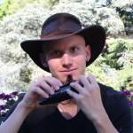 Profil le joueur d'ocarina