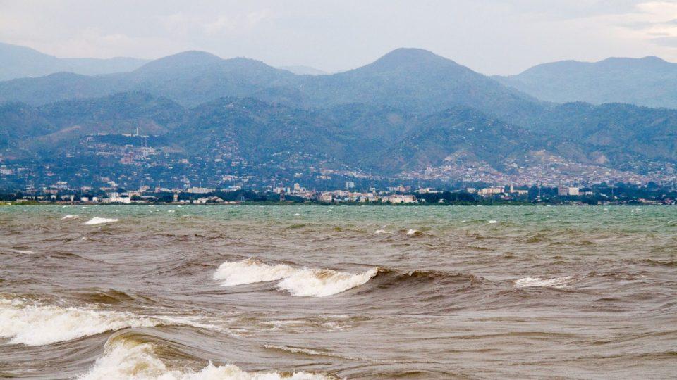la montée des eaux du Lac Tanganyika