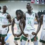 Les Basketteurs de l' équipe de Sénégal