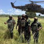 Les militaires de l'Etat de siège au Nord Kivu