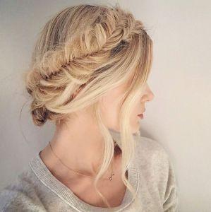 boho hair do, bridal hair, bridal inspiration