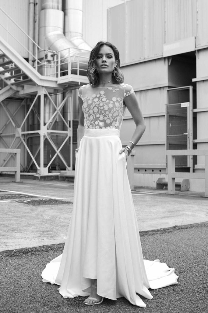 Rime Arodaky, French Bridal Couture, Lace, bridal fashion