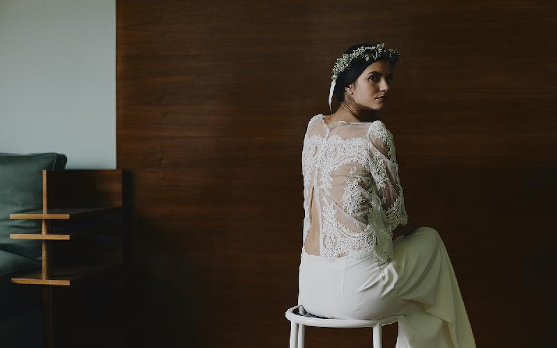 Flower crown, Lace, Laure de Sagazan
