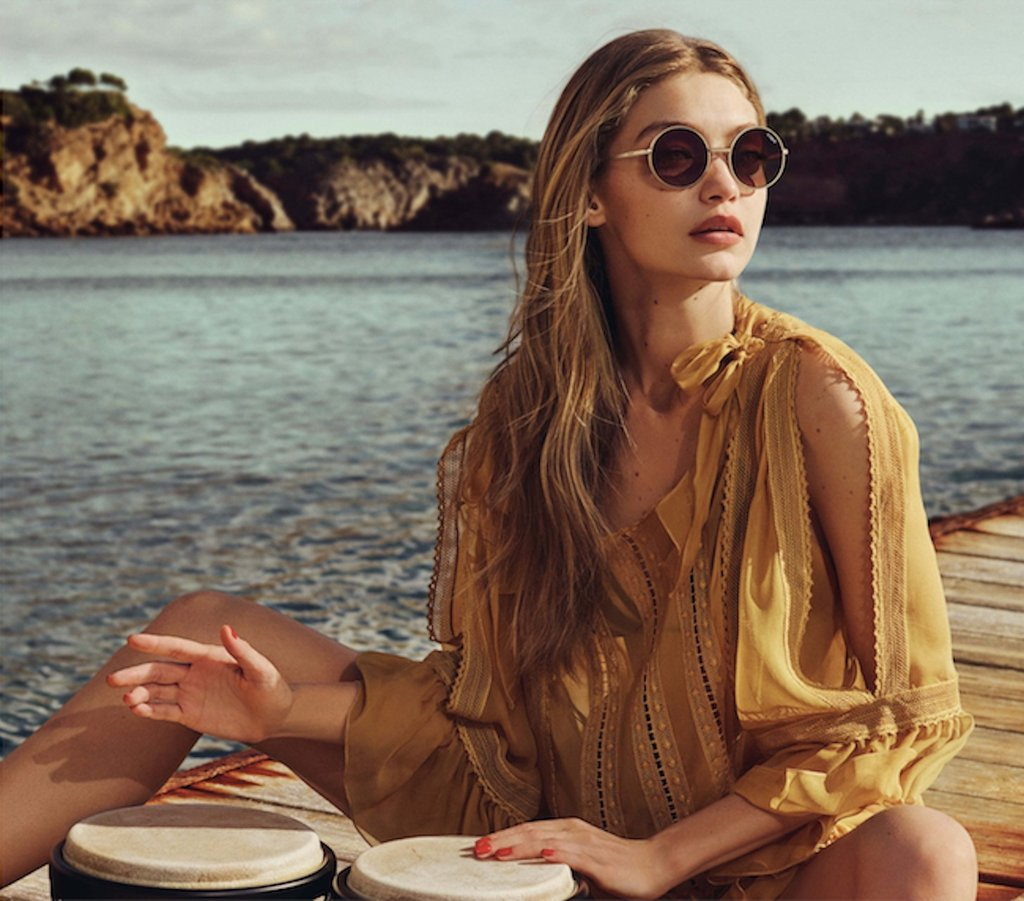 53967ddf7b Gigi-Hadid-Vogue-Eyewear-Second-Collection - Le Journal