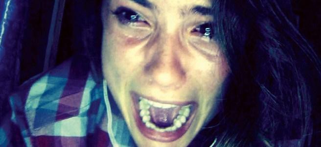 unfriended screaming frightening face