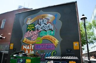 «Murs à mots»   Artiste: XRay   Année: 2014   Plus d'infos: http://www.mumtl.org/projets/murs-a-mots-2014/