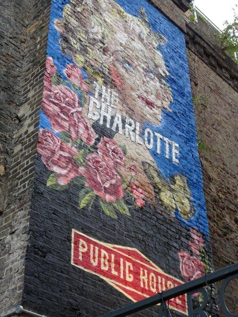peinture murale Londres
