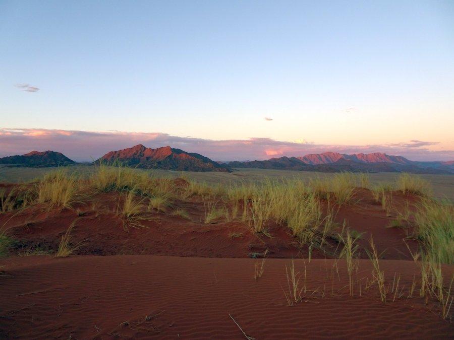 coucher de soleil dune