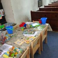 garderie dans une église