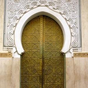 forme de porte marocaine
