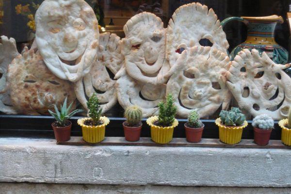 pain rigolo à Venise