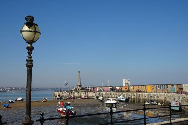Margate port anglais