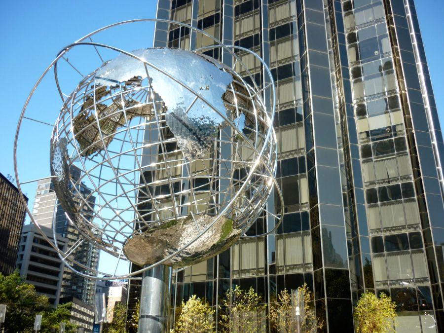 globe colombus circle