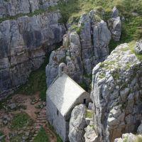 Pays de Galles chapelle St Govan