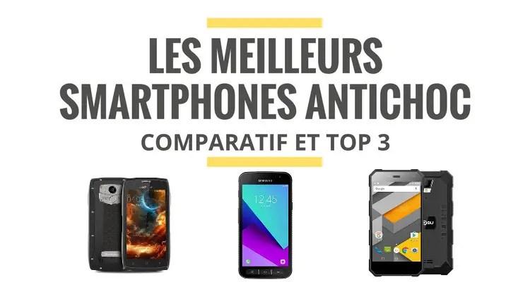 les meilleurs smartphones etanches
