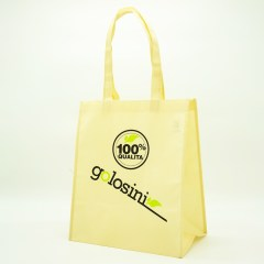 100g non-woven material with a silk screen print