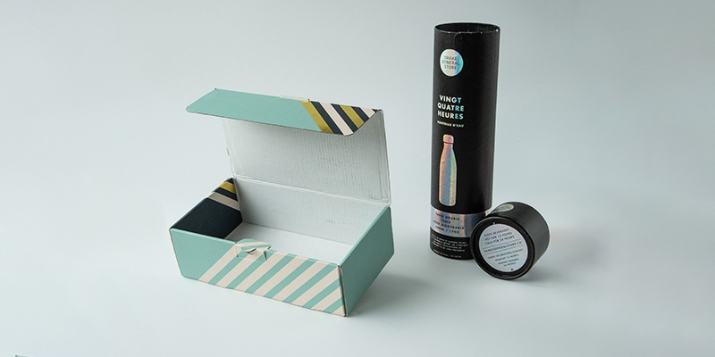 Corrugated custom gift box,