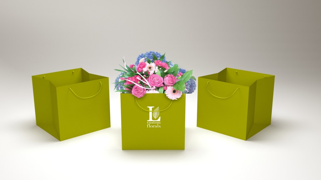 paper bag for flower industry