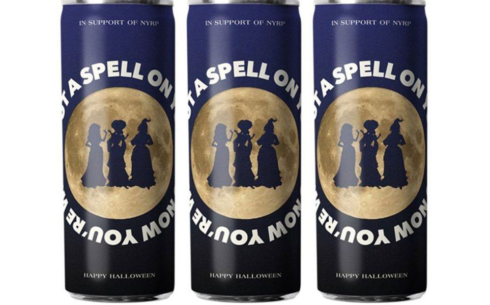 Hocus Pocus canned wine designs