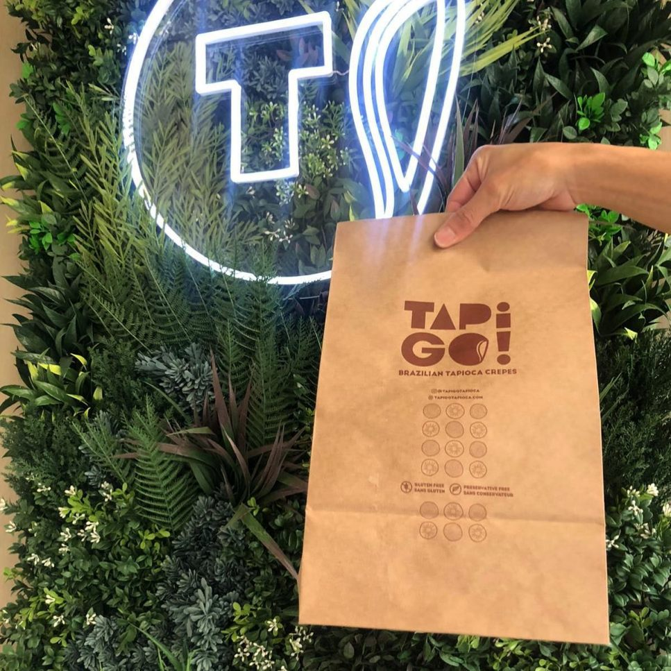 Tapi Go's takeout packaging.