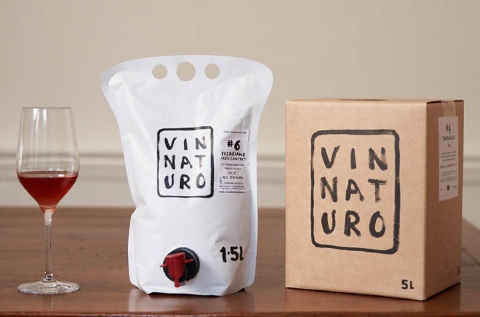 bag in box wine packaging