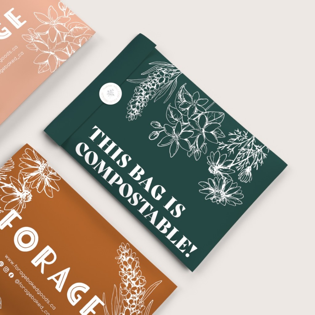 compostable mailer bag for e-commerce catalogue
