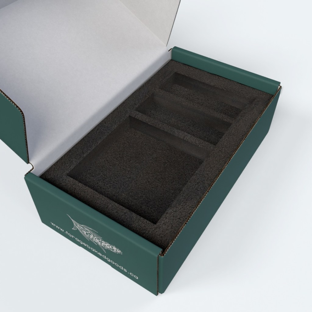 consider adding custom protective inserts when designing your  e-commerce packaging