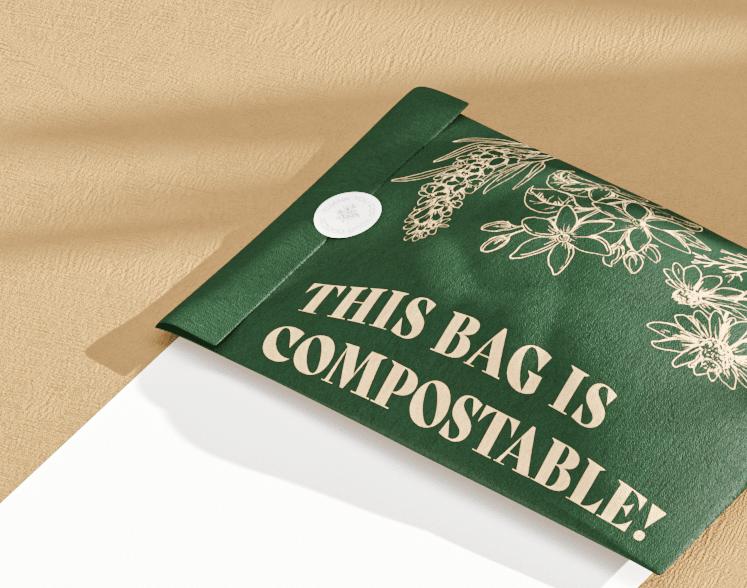 Forage Compostable mailer bag