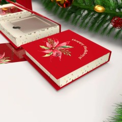 perfect for the holidays, these boxes come complete with a paper insert measured to your gift cards