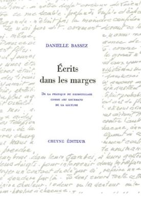 Couverture Ecrits dans les marges de Danielle Bassez
