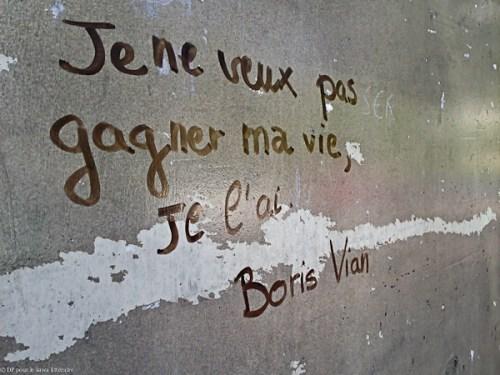 graffiti-Boris Vian-