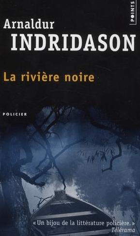 Couverture La rivière noire D'Arnaldur Indridason