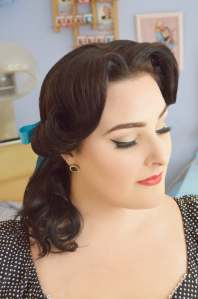 Le Keux Vintage Salon - Cosplay Costume Disney Belle Beauty and the Beast Hair 3 copy