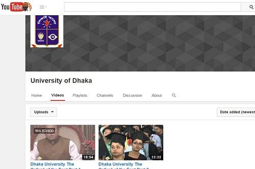 DU YouTube Channel