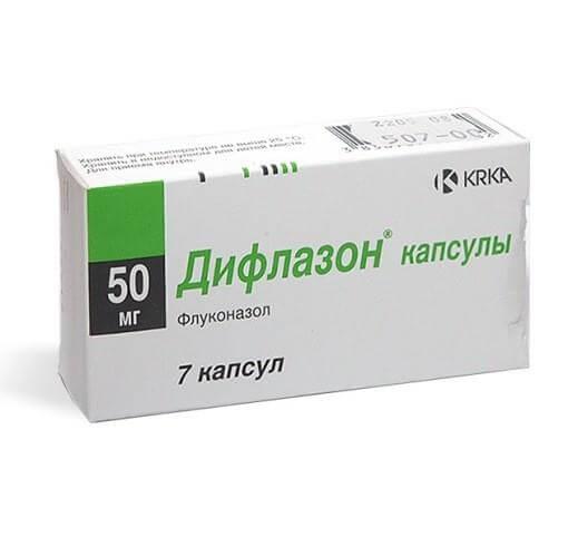 Onichomikozės nutraukimas Flukonazolas