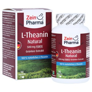 L-THEANIN Natural Forte 500 mg Kapseln ZeinPharma, 90 Stck