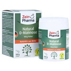 Natural D-mannose Powder, 100 Gramm