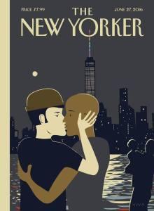 Couverture du New Yorker. Edition du 27 juin 2016