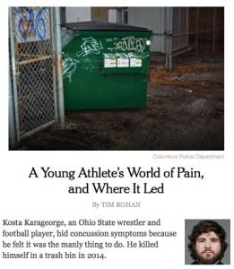 Capture d'écran du site internet du NYTimes mercredi 23 juin 2016