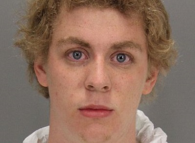 Mugshot de Brock Turner après son arrestation en Janvier 2015