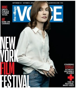 "Village Voice - Edition du 28 septembre au 04 octobre: ""New York Film Festival"""