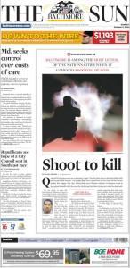 Baltimore Sun Oct.2, 2016