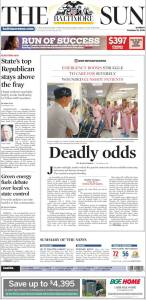 Baltimore Sun Oct.16, 2016