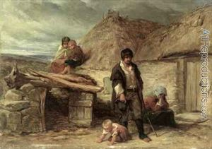 an-irish-eviction-by-frederick-goodall