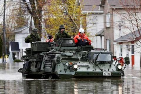 Lu dans le Maclean's à propos des inondations : il faut arrêter de payer pour votre vue sur la rivière.