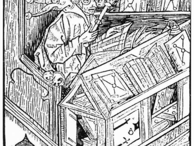 Récit d'un trouble étonnant, qui frappa dans les années 1800: la bibliomanie : la collection et l'accumulation compulsive de livres.