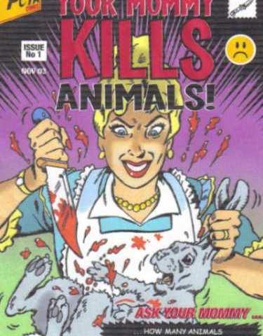 PETA : Pour les animaux et contre tout le reste : les chiens guides, les pêcheurs etc. Prochaine cible : la laine.